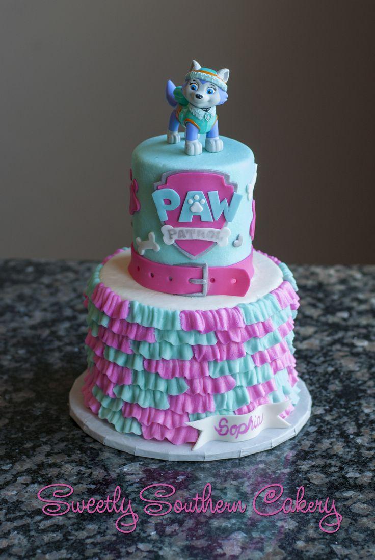 Paw Patrol Cake; Everest Cake