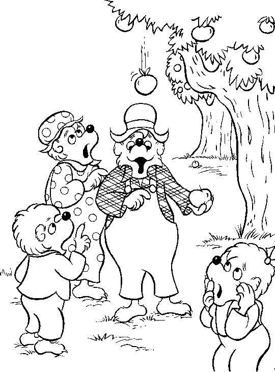 the berenstain bears 999 coloring pages - Berenstain Bears Coloring Book