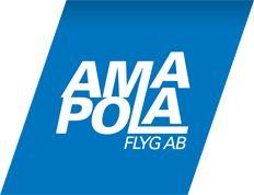 Amapola Flyg Logo. (SWEDISH).