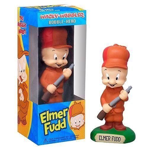 Wacky Wobbler Bobble Head Elmer Fudd New in Packaging Never Opened | eBay