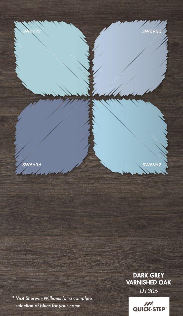 48 Best Blue Walls Gray Floors Images On Pinterest