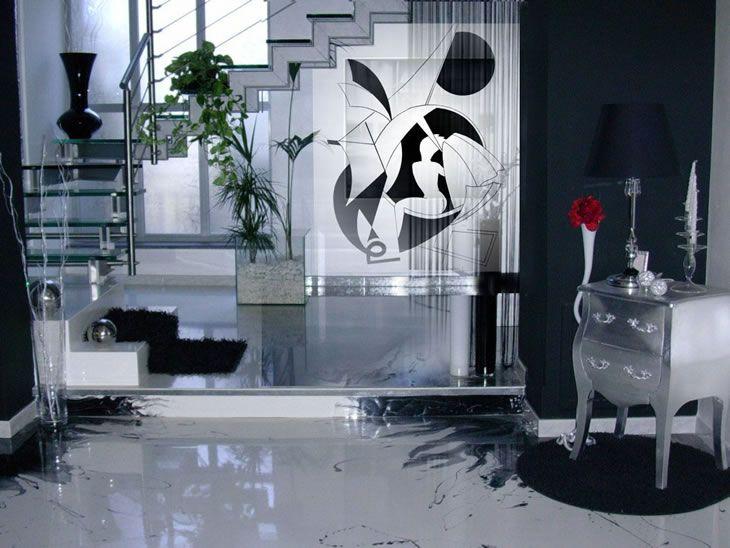 Forward Looking Black Living Room Design Ideas