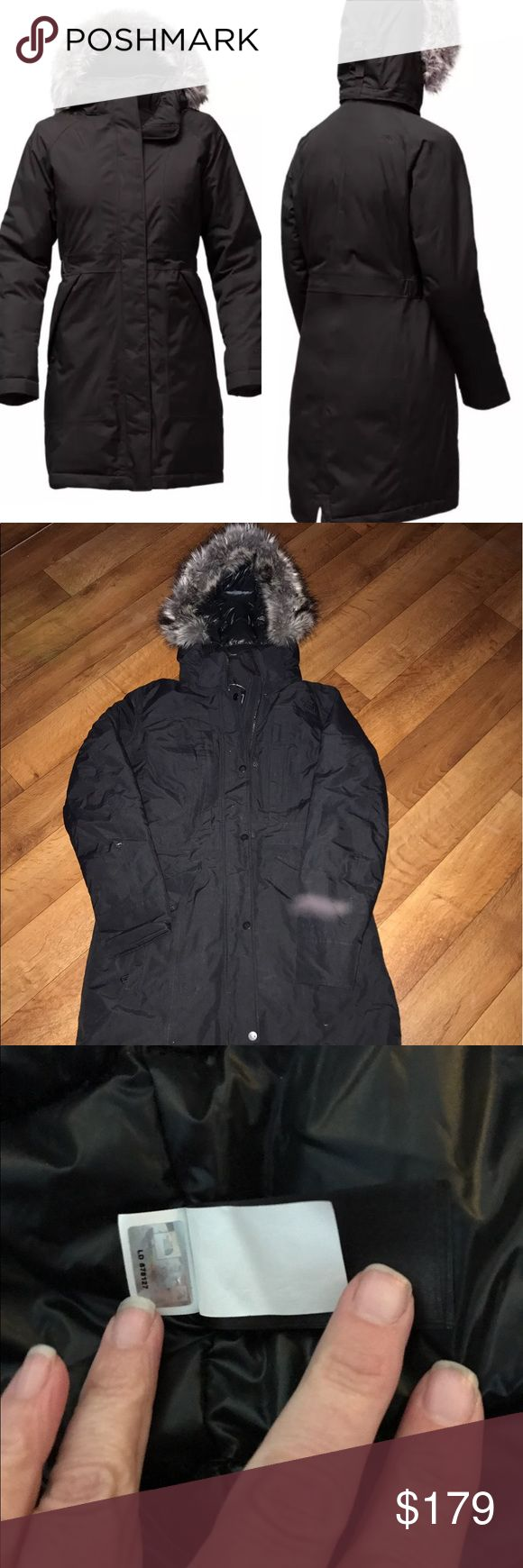 The North Face TNF  Parka Arctic Down S Jacket The North Face Arctic Down removable fur hood size small mark through inside label 🚫no trades🚫 Jackets & Coats Puffers