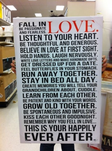 fall in love....