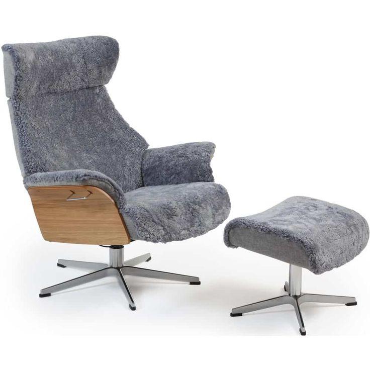 Air fåtölj & pall från småländska Conform har det mesta! Snygg design, skön sittkomfort och praktiska funktioner. Air fåtölj är designad av Jahn Aamodt, Norge. Välj mellan tyg, skinn och fårskinn!