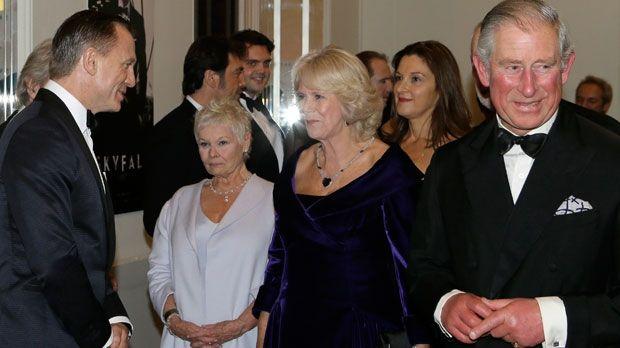 Prince Charles attends Skyfall premiere