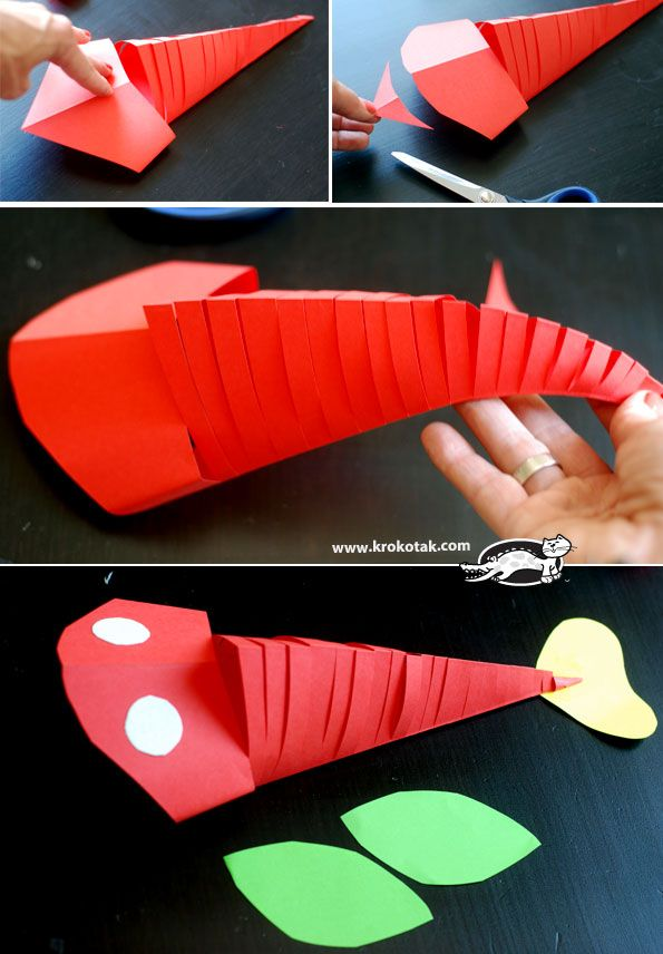 This is such an easy and cool craft to do! This moving paper fish is a project that both kids and adults will have a fun time making!