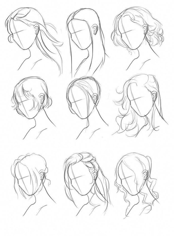 Drawing Hair Tips Hair Ref Set by M00NBRUSH.deviant… on @DeviantArt – #drawing…  – zeichnen/Art