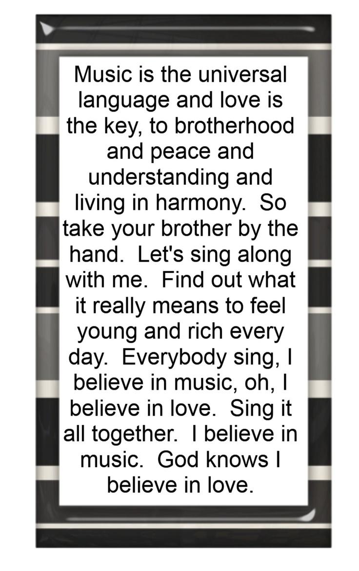 Mac Davis - I Believe in Music