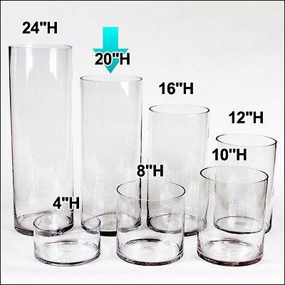 30 Inch Cylinder Vase Sevenstonesinc
