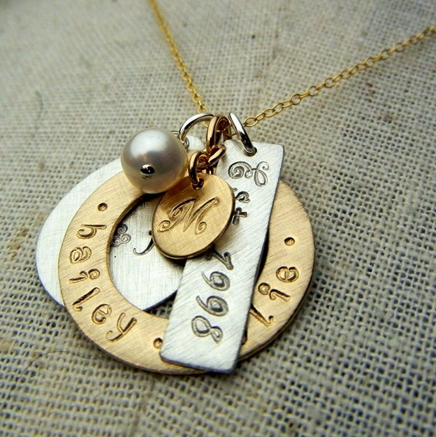 1000 Images About Stamped Metal Jewelry On Pinterest