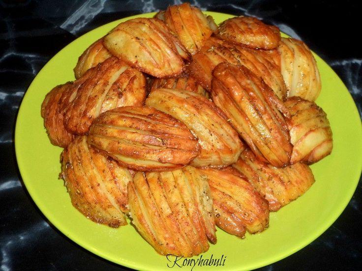 Ez isteni!!! Sütőben sült vajas – fűszeres burgonya