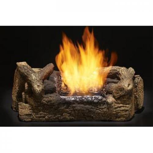 Natural Flame Smokeless-Log Fireplace Insert....