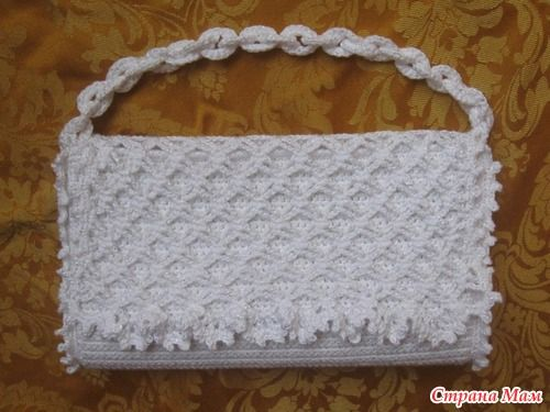 Crochet Clutch bag - tutorial