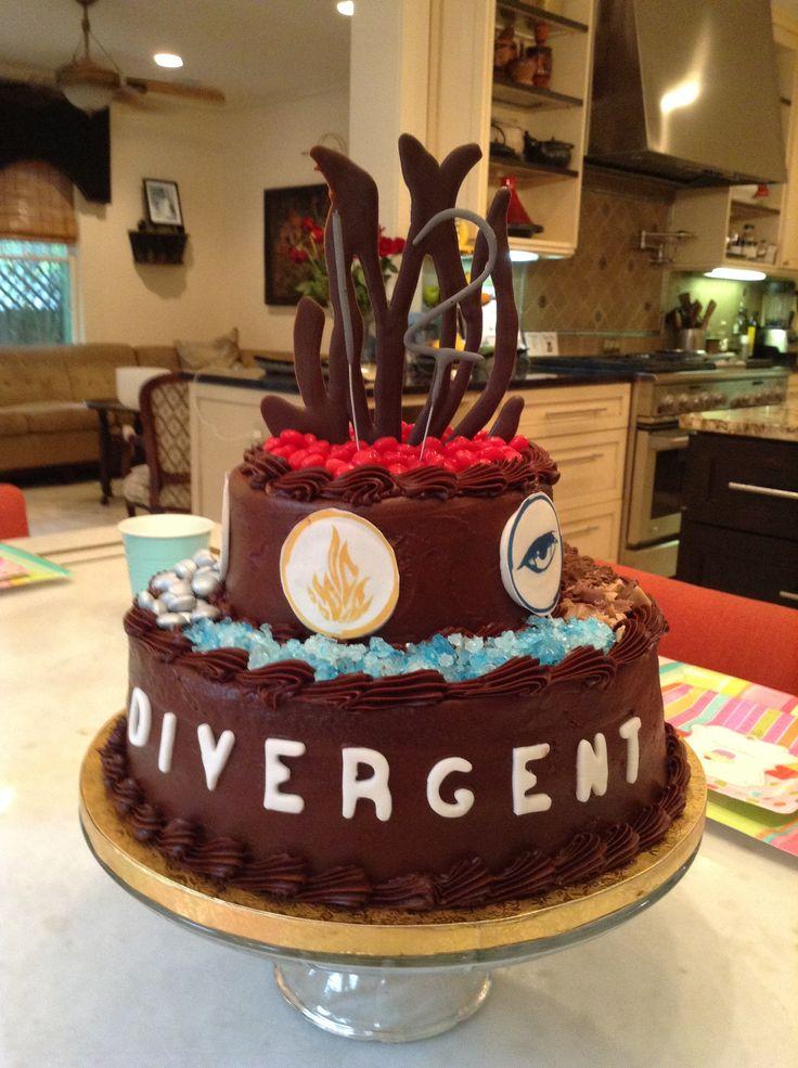 Divergent birthday cake