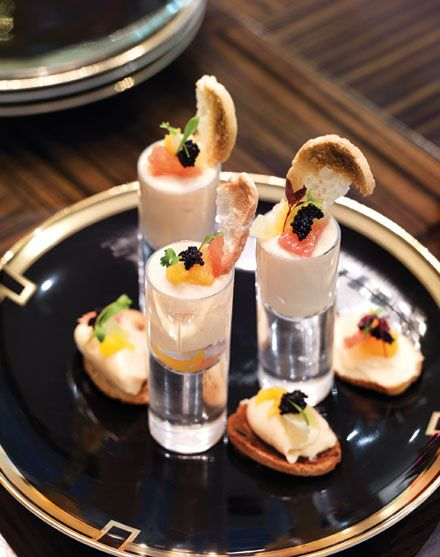 Smoked Salmon Mousse & croutons
