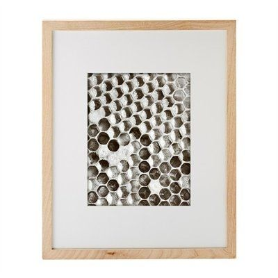 wood frame for 8 X 10. mount vertical or horizontal. mix and match with white or black frames. #StyleYourWall