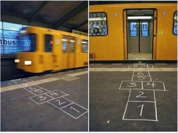 subway hopscotch