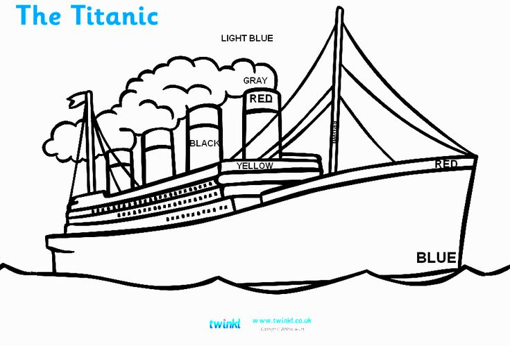 google coloring book pages boats - photo#10
