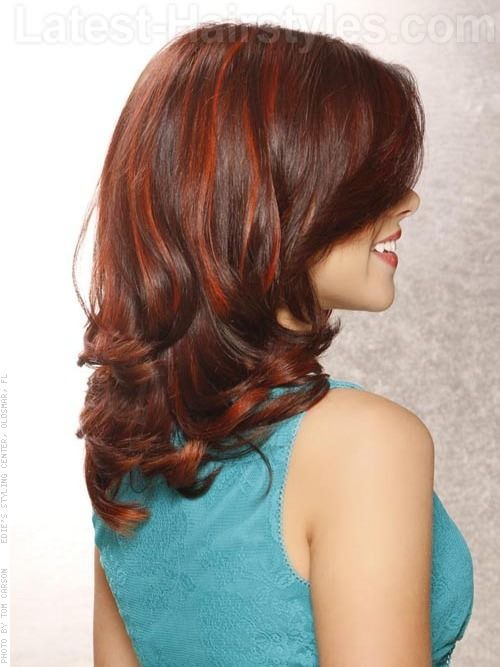 37 Best Red Highlights In 2019 For Brown Blonde Amp Black