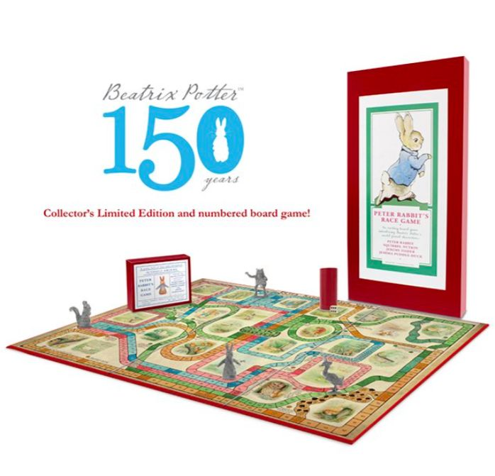 Limited Edition Peter Rabbit Game now in stock - limited run of 2,000 #peterrabbit #beatrixpotter