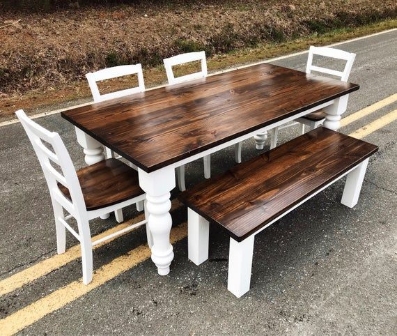 44++ Farm style kitchen table set best