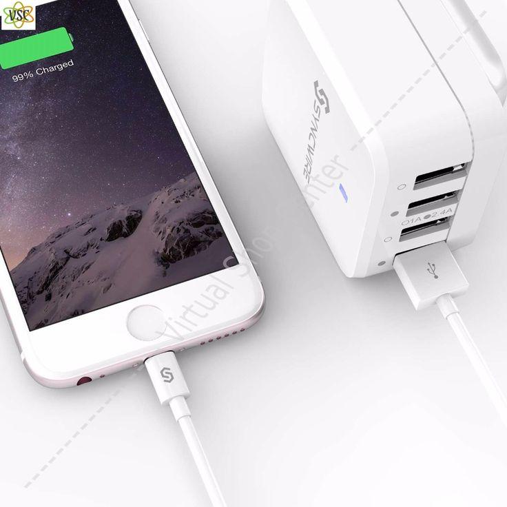 High-Tech ! Câble chargeur USB noir pour iPhone, X, 8, 7, 6, 6 s, Plus, 5, 5S, 5C, SE, iPad, iPod Certification Apple MFI