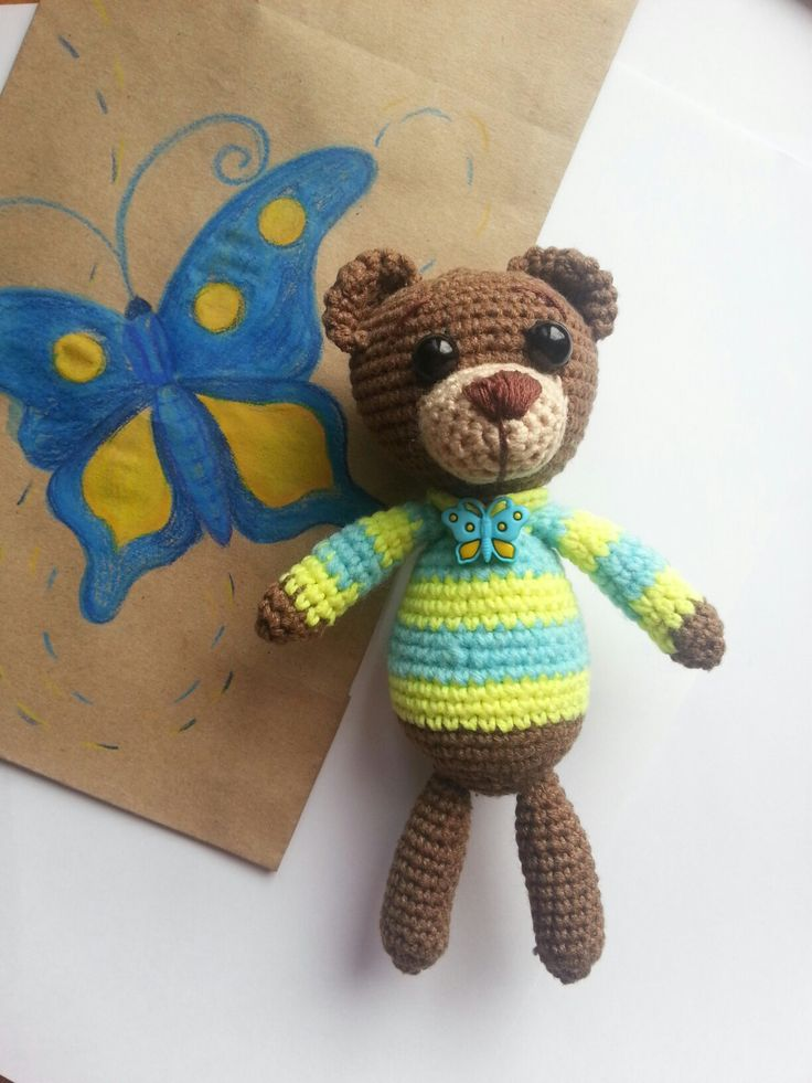 Little bear2 #amiguru #handmade #teddybear #crochet #withlove