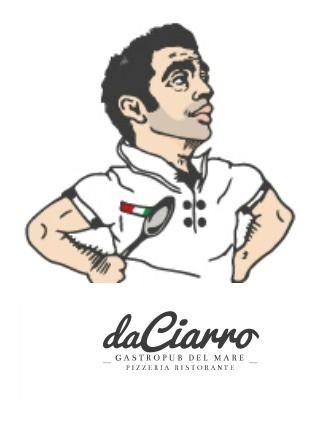 """Ideazione campagna pubblicitaria comprensiva di logo e Immagine coordinata, spot tv e promozione social, per la nuova gestione del ristorante """"Da chi Ragas"""" rinominata """"Da Ciarro"""" (Fano)  #logo #ideazione #fano #ristorante #gastropub"""