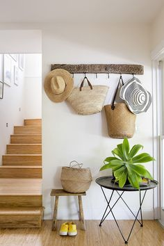 Adding Texture With Straw Hats & Bags - Emily A. Clark