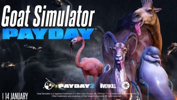 Goat Simulator Payday APK + OBB (Full