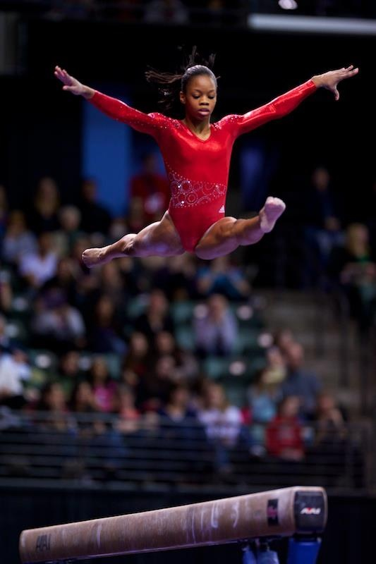 "Gabrielle Christina Victoria ""Gabby"" Douglas is an American artistic gymnast. As a member of the U.S. Women's Gymnastics team at the 2012 Summer Olympics, she won gold medals in both the individual and team all-around competitions."
