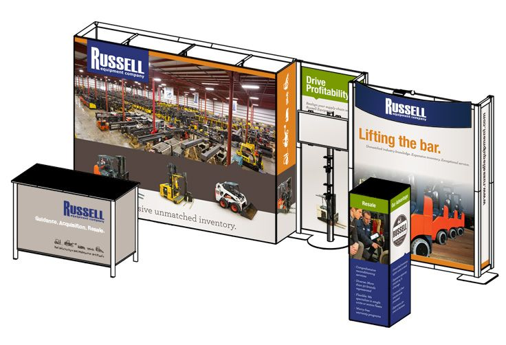 Trade Show Booth Equipment : Best tradeshows images on pinterest business products