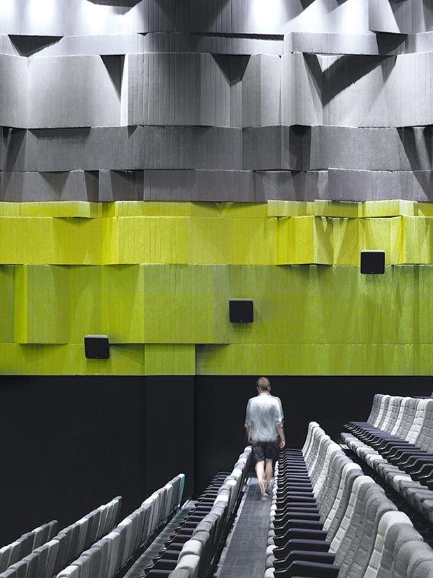 Nanchang Insun International Cinema Por One Plus Partnership Limited En  Nanchang. China. Interior Design MagazineInterior WallsArchitecture ...