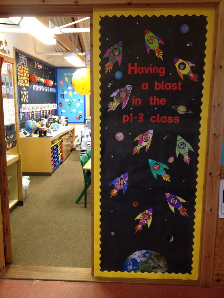 Space Door Display Classroom Doors Pinterest Doors
