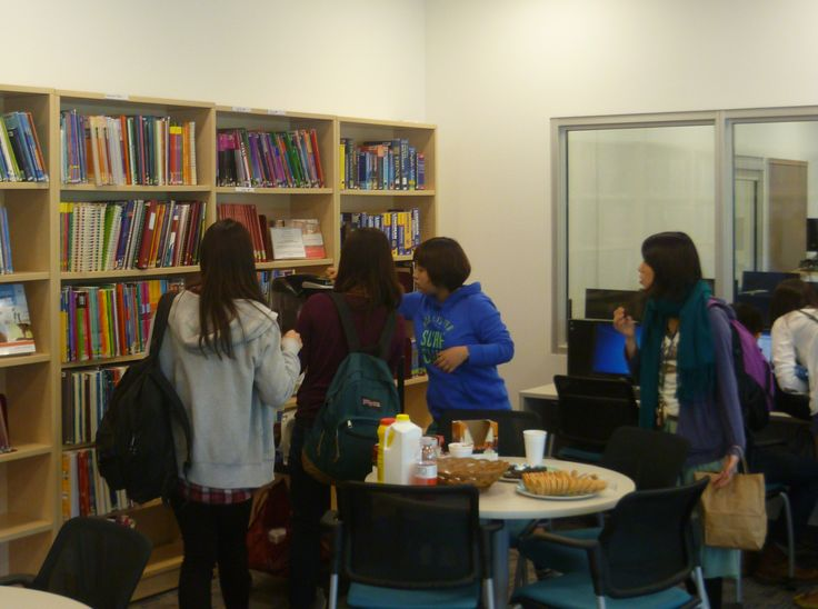 TESL Library Coffee Hour.... free coffee/tea, cookies and conversation. Mondays 12-1