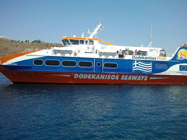 Dodekanisos seaways at Patmos
