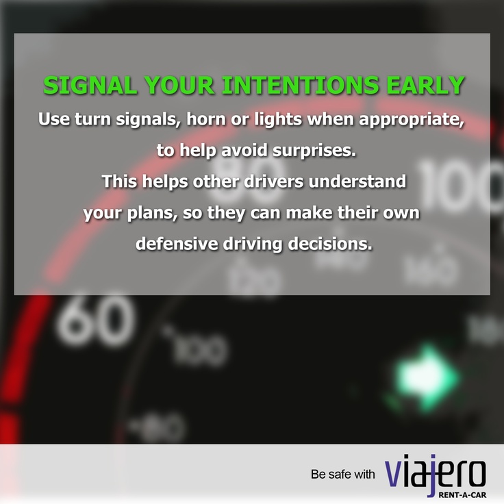 Driving tip: