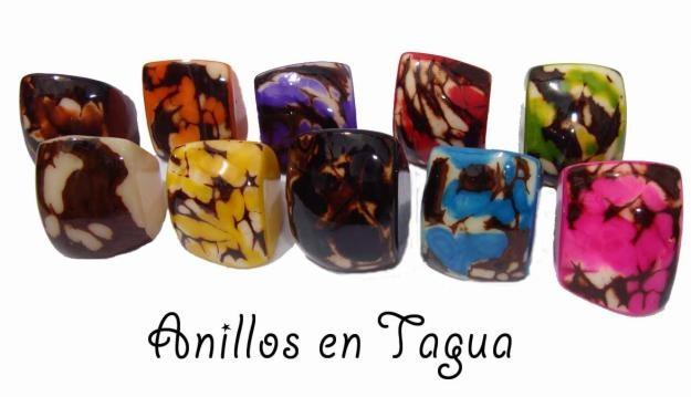 Anillos de Tagua