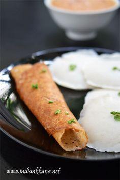 Sama Ke Chawal Ki Idli Dosa | Vrat Ki Idli Dosa | Navratri Vrat Recipes - gluten-free, vegan, healthy idli and dosa for falahari fasting using barnyard millets and sago