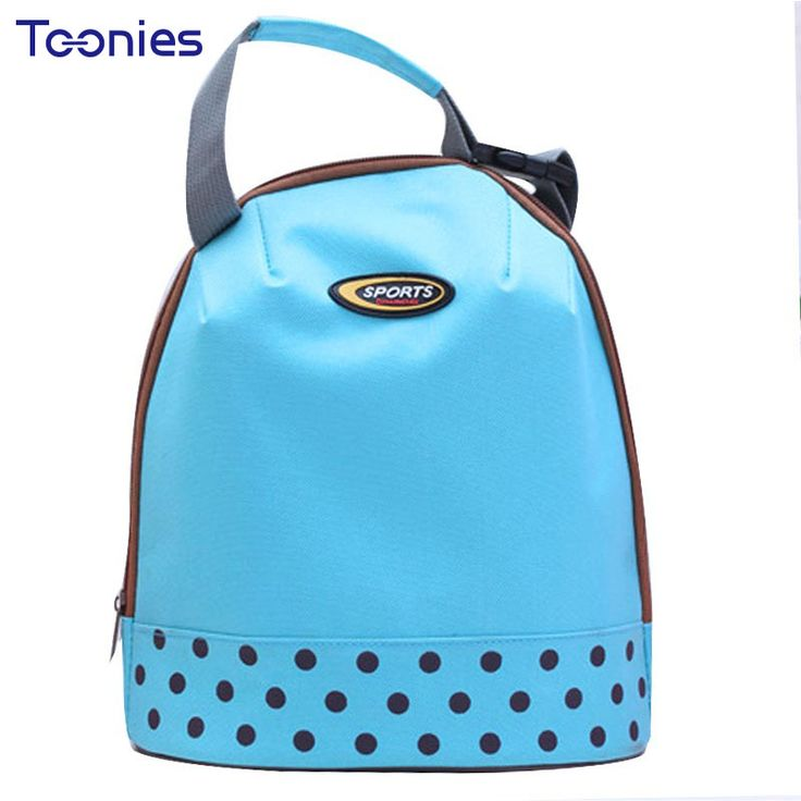 Baby Milk Bottle Insulation Bags Dot Printed Casual Mummy Outdoor Bag Baby Food Picnic Thermos Lunch Handbags Fashion Backpack