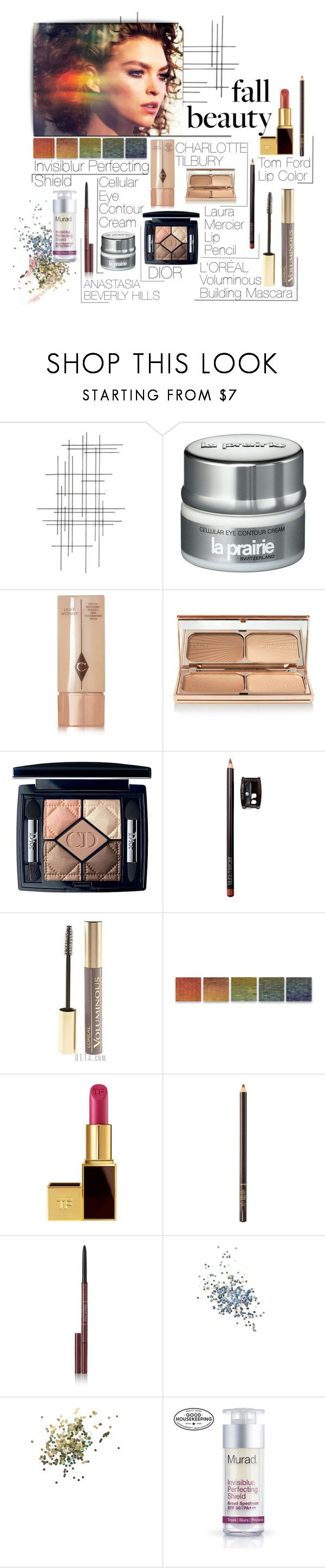 """Fall & Feel"" by catalinamihali ❤ liked on Polyvore featuring beauty, Crate and Barrel, La Prairie, Charlotte Tilbury, Laura Mercier, Libertine, Robert A. Brown and Anne Moran, Tom Ford, Anastasia Beverly Hills and Origins"