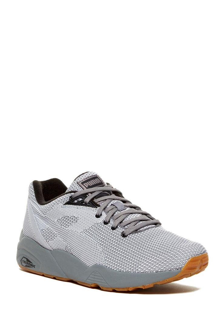 Puma R698 Knit Mesh: Grey