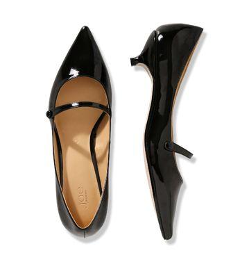 Women Shoes + Accessories Mary Jane Kitten Heel Low-res