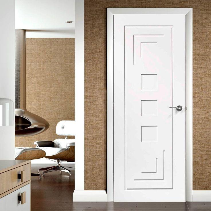 Door Set Kit Altino Flush Door - Primed & 38 best Internal PVC Double Doors images on Pinterest | Double ... pezcame.com