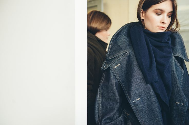 Christophe Lemaire FW14 cool denim coat
