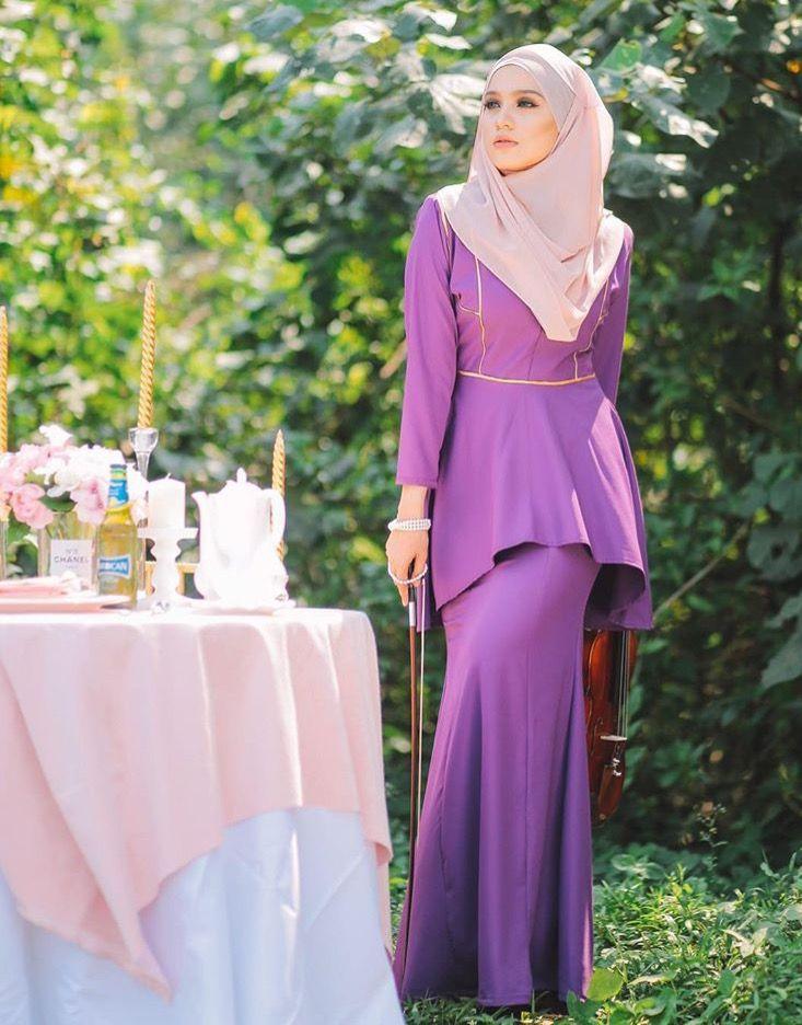 Baju kurung moden #hijabista