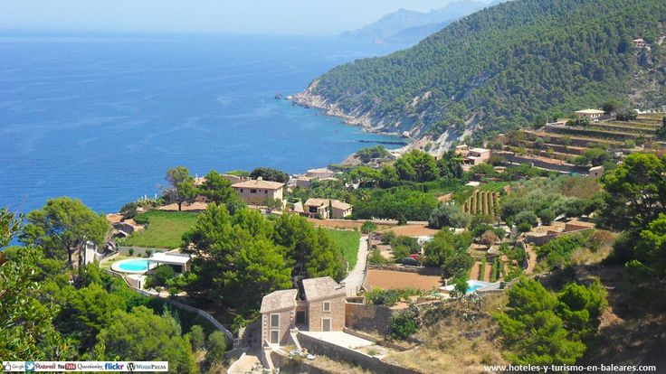 Banyalbufar (MALLORCA) http://www.hoteles-y-turismo-en-baleares.com/ #turismoBaleares #balearicTourism