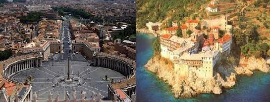 -Διανόημα- ἂπειρον, Ἑλλάς - : Το θανάσιμο μυστικό του Βατικανού και του Αγίου Όρ...