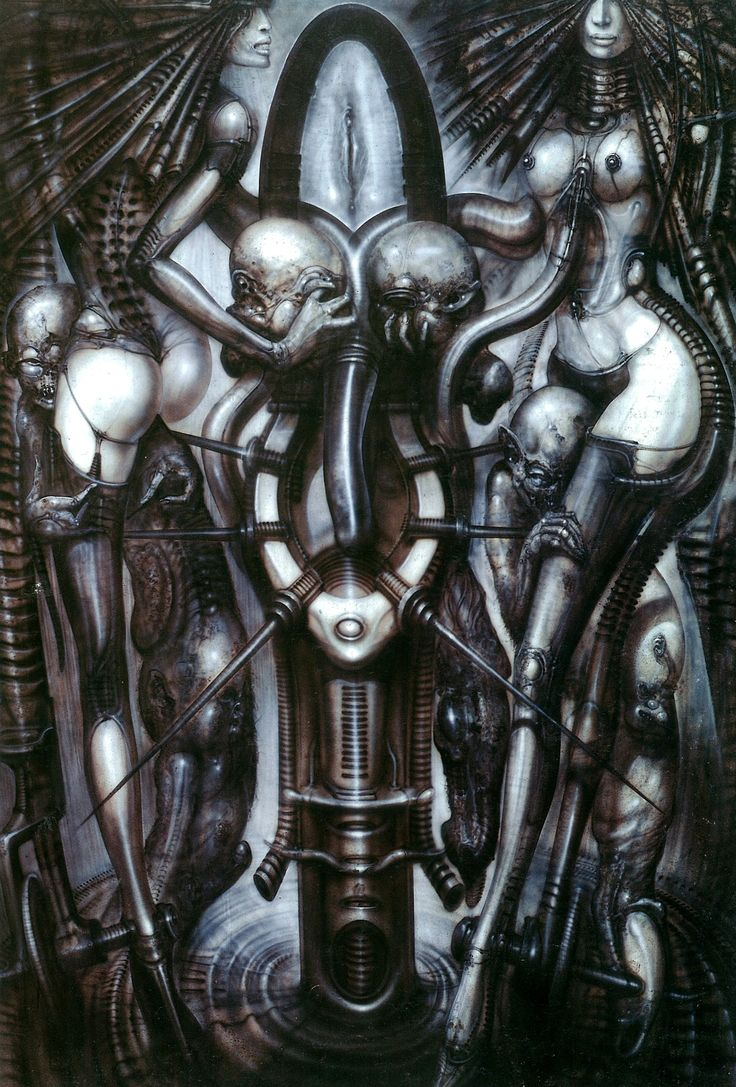 Art Poster Hr Giger Li II Fabric Art Cloth Poster 20inch x 13inch Decor 20